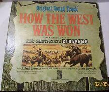 "How The West Was Won ""Original Soundtrack"" LP 33 RPM ( MGM 1963 )"