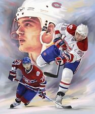 Andrei Markov : giclee print on canvas poster painting for autograph B-0287