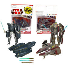 """Year 2009 Star Wars Transformers Crossovers 2 Pack 7"""" Figure - GENERAL GRIEVOUS"""