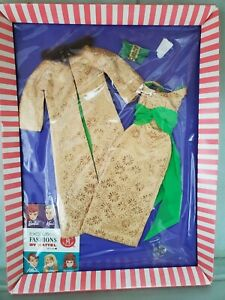Vintage Barbie GOLDEN GLORY #1645 outfit NFRP
