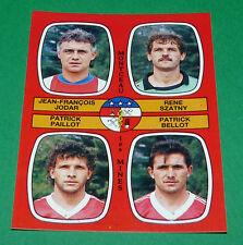 N°432 JODAR SZATNY PAILLOT MONTCEAU-LES-MINES D2 PANINI FOOTBALL 87 1986-1987