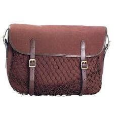 Large Canvas Leather,webbing brown Game Bag Brand New by Bisley