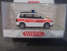 Wiking 071 10 31 VW Volkswagen Touran Notarzt mit OVP HO 1:87