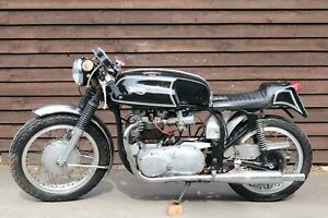 Norton Triumph Triton 650 Cafe Racer 1960, Featherbed,  the real thing!