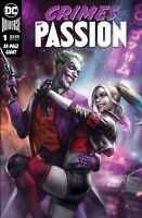 CRIMES OF PASSION #1 Ian MacDonald Exclusive Harley Quinn & Joker Variant NM+