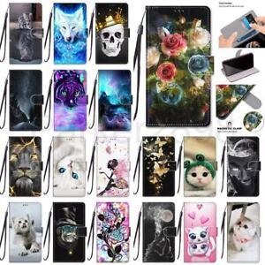 Case For Samsung Galaxy A72 A52 A42 A32 A71 A51 A21 5G Pattern Wallet Flip Cover