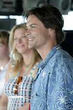 Actor Rob Lowe & wife Sheryl Berkoff Aboard Navy Ship USS Russell- Pearl Harbor