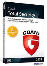 G Data Total Security 2018 Vollversion 1 PC & Handbuch (PDF) Download NEU