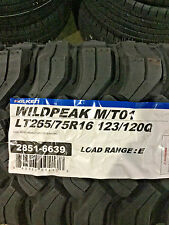 4 New LT 265 75 16 LRE 10 Ply Falken Wildpeak M/T01 Mud Tires
