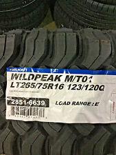 4 New LT 265 75 16 LRE 10 Ply Falken Wildpeak M/T01 Mud Tires