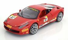 1:18 Hot Wheels Ferrari 458 Challenge 2011 red
