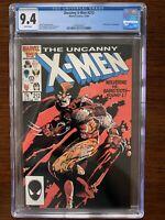 Uncanny X-Men #212 CGC 9.4 (Marvel 1986) Wolverine vs Sabretooth!