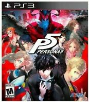 Persona 5 PlayStation 3 PS3 Brand New Sealed