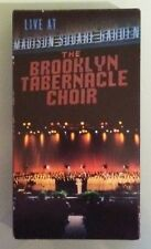 THE BROOKLYN TABERNACLE CHOIR  LIVE AT MADISON SQUARE GARDEN VHS VIDEOTAPE