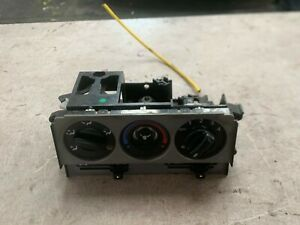 2002 ROVER 25 HEATER CONTROL PANEL