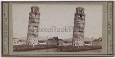 Van Lint Fotografo Pise Pisa Italie Italia Stéréo Vintage albumine ca 1870