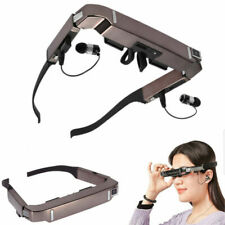 Vision 800 3d VR Video Glasses Android 4.4 WiFi Bluetooth Virtual 5mp HD Camera