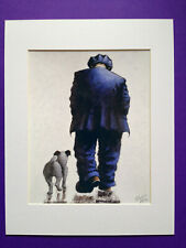 """Alexander Millar ~ And So It Goes ~ Art Mounted Picture 14x11"""" FREE P&P"""