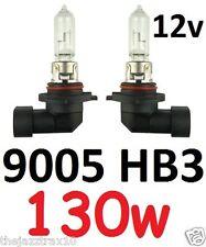 9005 HB3 12v 130W Globe Bulbs Volvo S40 S60 V50 V70 Toyota Kluger Aurion Hi Beam