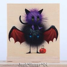 Jeff Soto Seeker Friends #7 Candy Eaters Print On Wood Signed Numbered Art
