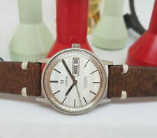 USED 1975 OMEGA SEAMASTER SILVER DIAL DAYDATE CAL:1022 AUTO MAN'S WATCH