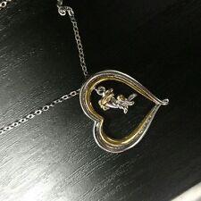 Disney Eeyore Heart Quote Necklace..... NOW ON SALE