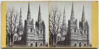 Cattedrale Da Lichfield UK Foto N° PL40L7 Stereo Vintage Albumina
