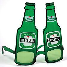 Bierflaschen Party Brille NEU - Zubehör Accessoire Karneval Fasching