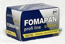 10 rolls FOMAPAN 100 35mm 36exp Black & White Film 135-36 FREESHIP