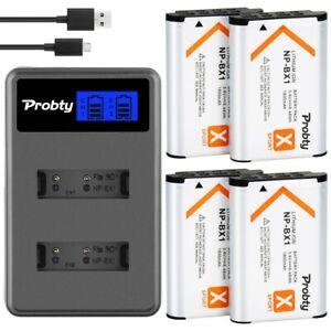 SONY NP-BX1 npbx1 np bx1 Camera Battery Sony FDR-X3000R RX100 RX100 M7 M6 AS300