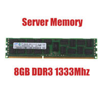 For Samsung 8GB PC3L-10600R 2Rx4 DDR3-1333MHz ECC Server REG-DIMM Memory RAM RHN