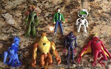 Ben 10 Action Figures (2006-2008)Assorted Lot Of 7 Pieces Bandai