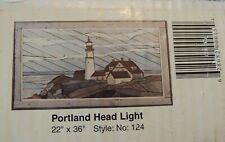 "New listing Woodscapes Of America Portland Head Light #124 22""x36"" Wood Kit New Unopened Box"