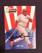 John Kruk 2000 Team Nabisco All Stars Hand Autographed Baseball Card