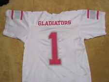 Cleveland Gladiators Arena Football League Girl's Russell Jersey Youth Small HTF
