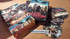 DRAGON FEAR P-51 DRAGON FIGHTER JABBERWOCK LAST DRAGON / BOX 4 DVD VIDEO PAL