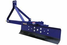 DISSY MACHINERY 6FT TRACTOR GRADER BLADE CAT 1, 3 POINT LINKAGE 1800MM