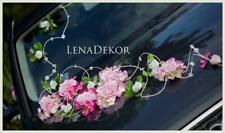 wedding car decoration ribbon  bows prom limousine decoration slub wesele MISIA