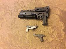 Marvel Legends giantman baf nuke deadpool punisher machine gun lot rifle pistol