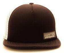 PATAGONIA Foam Meshback Strapback Trucker Hat Mountain Logo Trout Fitz Roy Cap