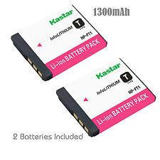 2x Kastar Battery for Sony NP-FT1 Cyber-Shot DSC-T5 DSC-T9 DSC-T10