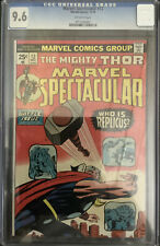MARVEL SPECTACULAR #12 CGC 9.6 FEATURING THE MIGHTY THOR HIGHEST GRADED CGC
