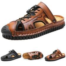 Men's Outdoor Walking Beach Slingbacks Sandals Slippers Shoes Slip on Non-slip D