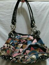 Kathy Van Zeeland Purse Handbag Mod Print