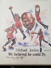 3 Ring Binder of Michael Jordan Basketball cards and limited edition photo's