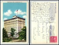 WASHINGTON DC Postcard - Roger Smith Hotel M6