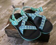 e59c99a401881d NEW CHACO Z 1 Ecotread Medusa Aqua waterproof Sandals Shoes Size US 4 EUR 35