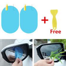 10tlg Oval Auto Außenspiegel Folie Seitenspiegel Regenschutz Nebelschutz +Tool
