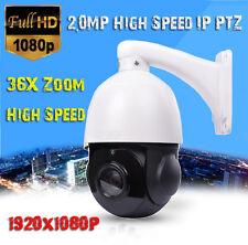 "36X Optical Zoom 2MP 1080P 4"" MINI IP PTZ High Speed Dome Camera ONVIF Network"