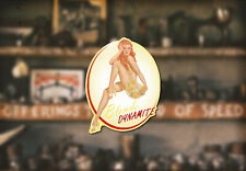 Blond Dynamite Water Slide Decal Ford Chevy Hot Rod TriFive Pinup Sexy Flathead